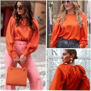 Zara Elegant Full Sleeved Top